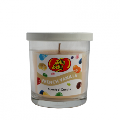 Jelly Belly French Vanilla Scented Candle 1 kpl