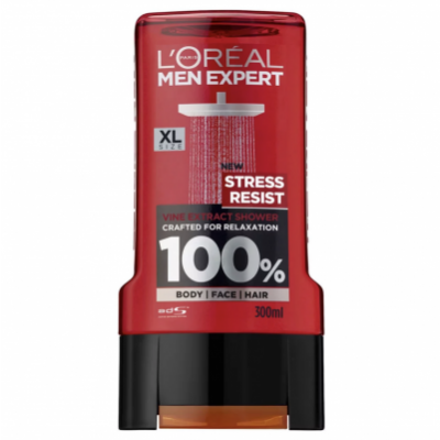 L'Oreal Men Expert Shower Gel Stress Resist 300 ml