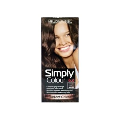 Mellor & Russell Simply Colour 6.0 Natural Light Brown 1 stk