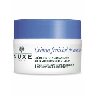 Nuxe Creme Fraiche 48HR Moisturising Rich Cream Dry to Very Dry skin 50 ml