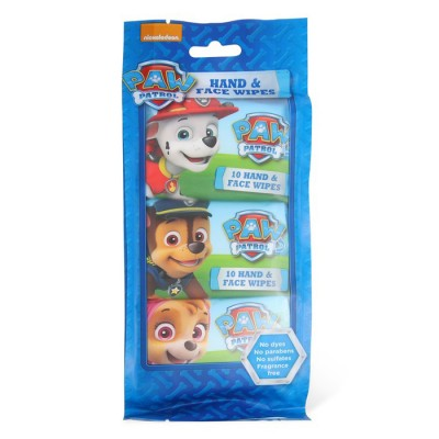 Nickelodeon Paw Patrol Hand & Face Wipes 3 x 10 st
