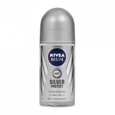 Nivea Men Silver Protect Roll On Deo 50 ml