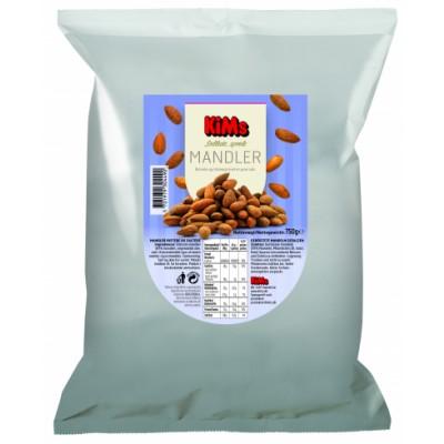 Kims Sprøde Saltede Mandler 750 g