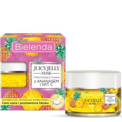 Bielenda Juicy Jelly Refreshing Pineapple Mask 50 ml