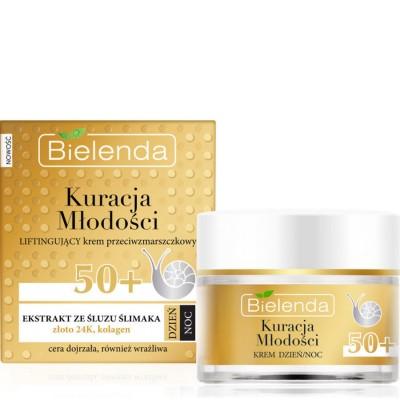 Bielenda Youth Therapy Lifting Anti-Wrinkle Cream 50+ 50 ml