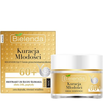 Bielenda Youth Therapy Regenerating Anti-Wrinkle Cream 60+ 50 ml