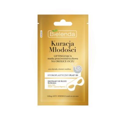 Bielenda Youth Therapy Lifting Anti-Wrinkle Eye Sheet Mask 1 kpl