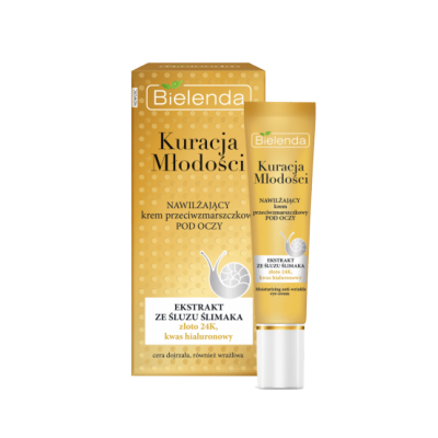 Bielenda Youth Therapy Moisturizing Anti-Wrinkle Eye Cream 15 ml