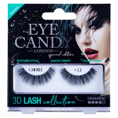Eye Candy 3D Lashes 33 Cheree 1 pari