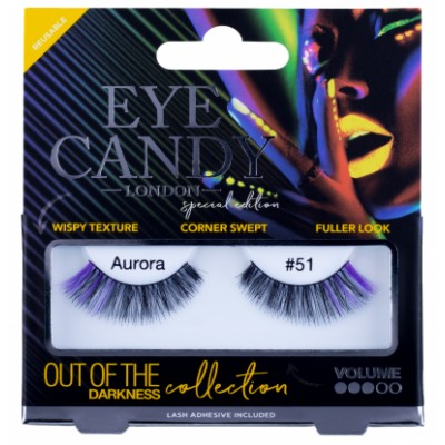 Eye Candy Out Of The Darkness Lashes 51 Aurora 1 pari
