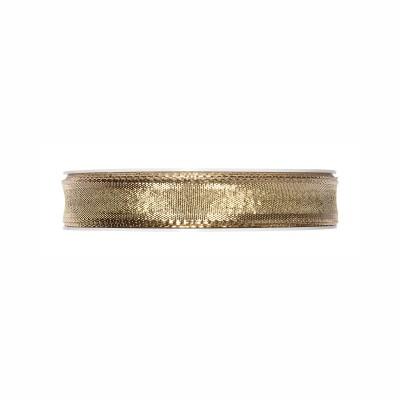 BasicsHome Lahjanauha kulta 2 cm x 22 m