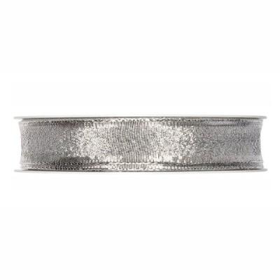 BasicsHome Ribbon Silver 2 cm x 22 m