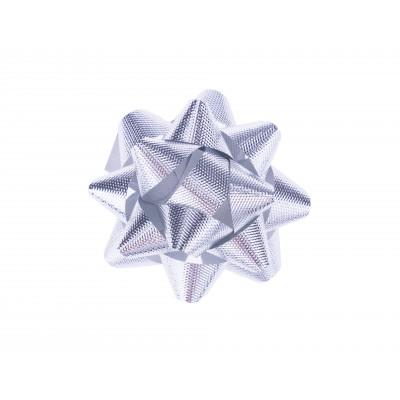 BasicsHome Gift Bow Silver 1 pcs