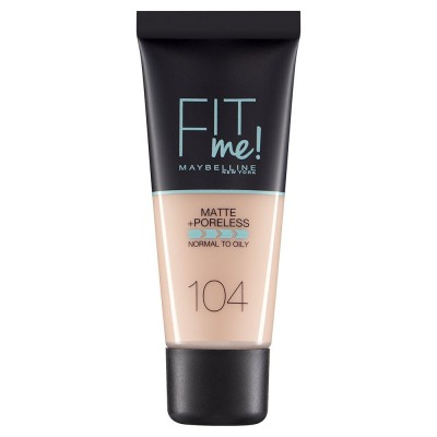 Maybelline Fit Me Matte & Poreless Foundation 104 Soft Ivory 30 ml
