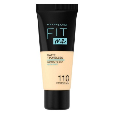 Maybelline Fit Me Matte & Poreless Foundation 110 Porcelain 30 ml