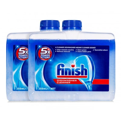 Finish Dishwasher Cleaner Twin Pack 2 x 250 ml