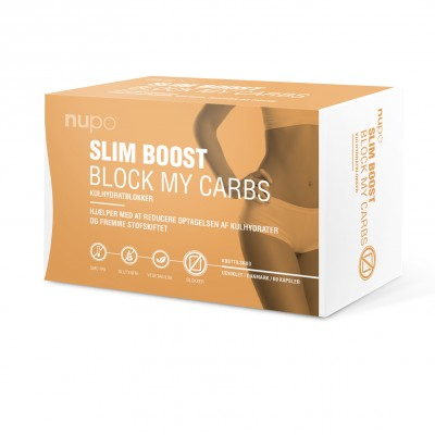 Nupo Slim Boost Block My Carbs 60 st