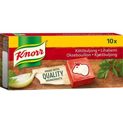 Knorr Rundvlees Bouillon 10 st