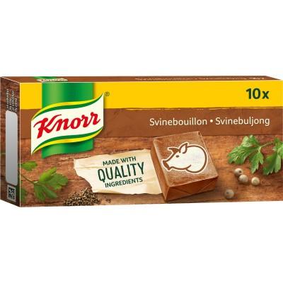 Knorr Svinebuljong 10 stk