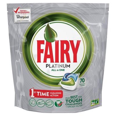 Fairy Platinum All in One Konetiskitabletti 70 kpl
