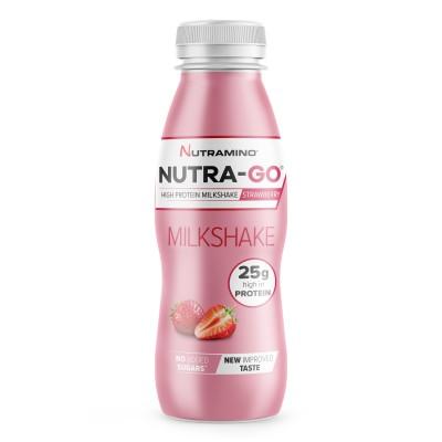 Nutramino Nutra-Go Protein Milkshake Strawberry 330 ml
