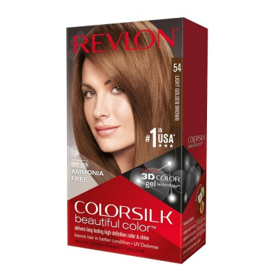 Revlon Colorsilk Permanent Haircolor 54 Light Golden Brown 1 st