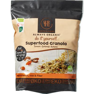 Urtekram Superfood Granola Gurkemeje Øko 400 g