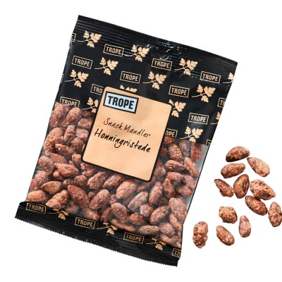 Trope Honey Roasted Snack Almonds 125 g