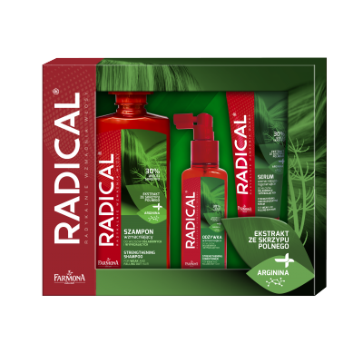 Radical Strengthening Shampoo & Conditioner & Serum 400 ml + 2 x 100 ml