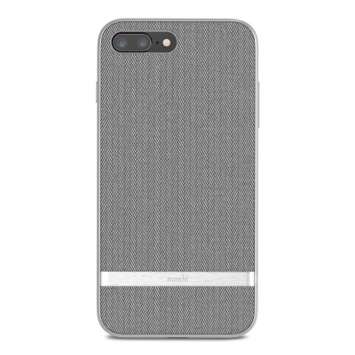 Moshi Vesta Case iPhone 8 Plus Herringbone Grey iPhone 8 Plus