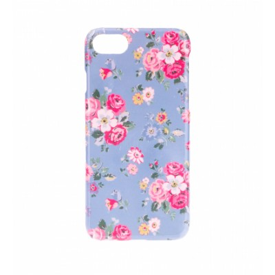 BasicsMobile Floral Baby Blue iPhone 7/8 Cover iPhone 7/8