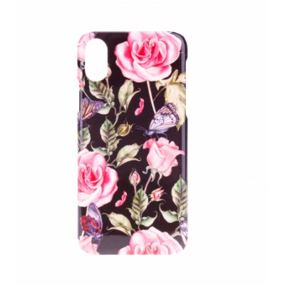 BasicsMobile Roses Of Butterflies iPhone X/XS iPhone X/XS
