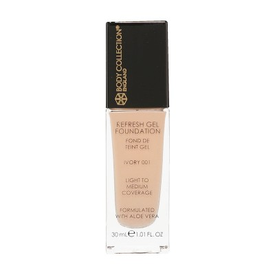 Body Collection Refresh Gel Foundation 001 Ivory 30 ml