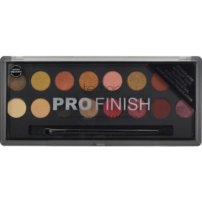 Technic Pro Finish Eyeshadow Palette Hidden Treasures 16 g
