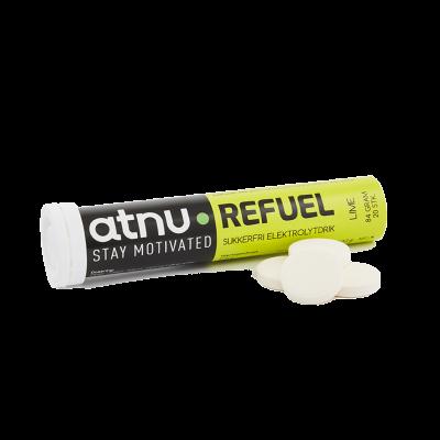 Atnu Refuel Elektrolyt Tabs Lime 20 st