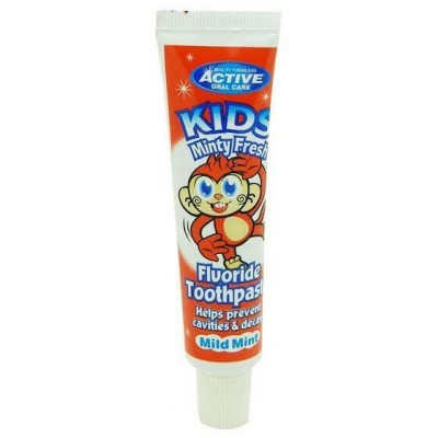 Active Oral Care Kids Minty Fresh Toothpaste 25 ml