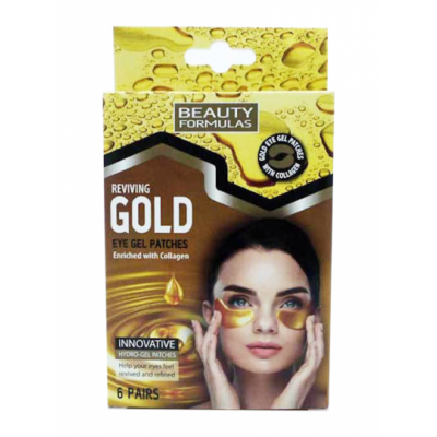Beauty Formulas Reviving Gold Eye Gel Patches 6 par