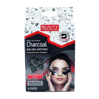 Beauty Formulas Charcoal Eye Gel Patches 6 paria