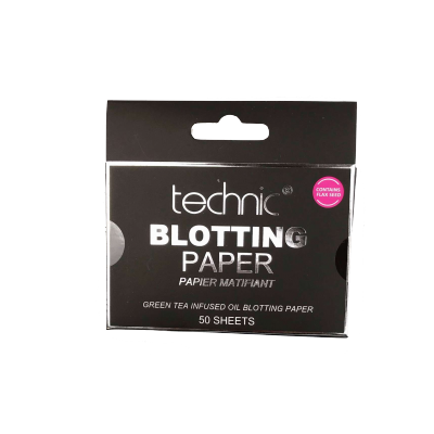 Technic Green Tea Blotting Paper Sheets 50 kpl