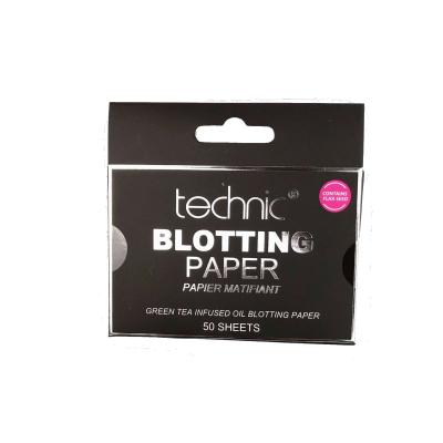 Technic Green Tea Blotting Paper Sheets 50 pcs