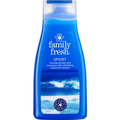 Family Fresh Sport Shower Gel 500 ml