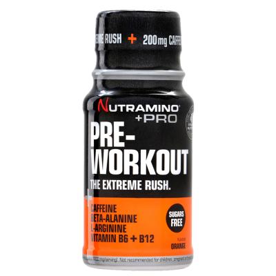 Nutramino +Pro Pre-Workout Shot Orange 60 ml