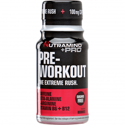 Nutramino +Pro Pre-Workout Shot Berries 60 ml