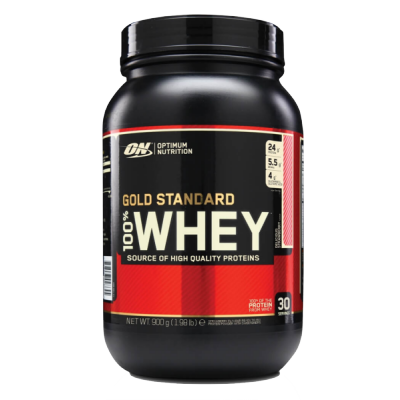 Optimum Nutrition Gold Standard 100% Whey Strawberry 900 g