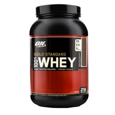 Optimum Nutrition Gold Standard 100% Whey Double Rich Chocolate 900 g