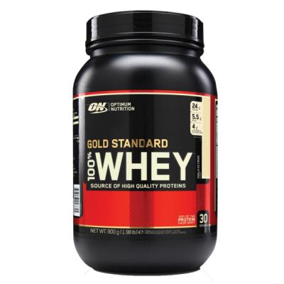Optimum Nutrition Gold Standard 100% Whey Vanilla Ice Cream 900 g