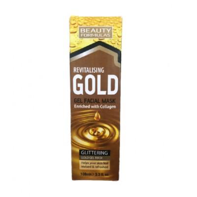 Beauty Formulas Revitalising Gold Gel Facial Mask 100 ml