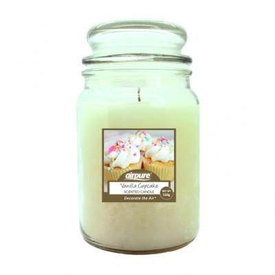 Airpure Vanilla Cupcake Scented Candle 510 g