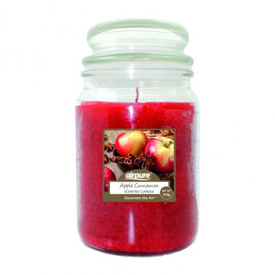 Airpure Apple Cinnamon Scented Candle 510 g