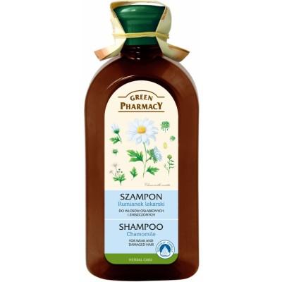 Green Pharmacy Chamomile Shampoo Weak & Damaged Hair 350 ml